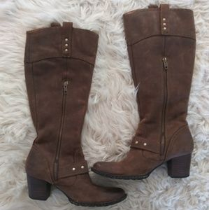 Born soft leather boots